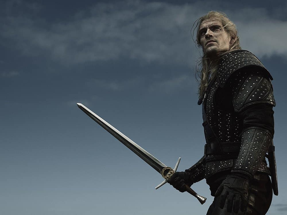 Henry Cavill Ready For Battle In New Witcher Image