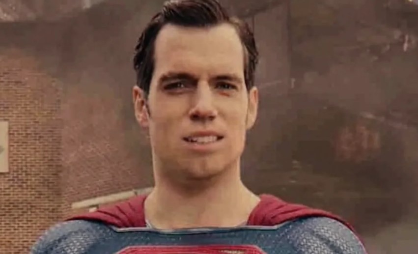 Henry Cavill Superman Mustache Justice League