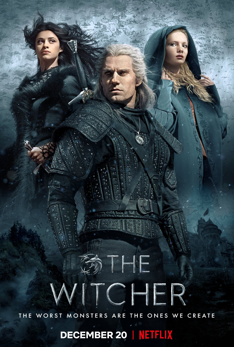 Henry Cavill The Witcher poster