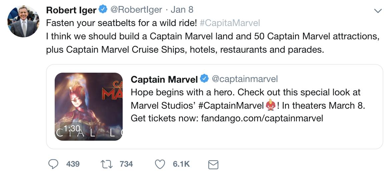 Bob Iger deeletes Twitter