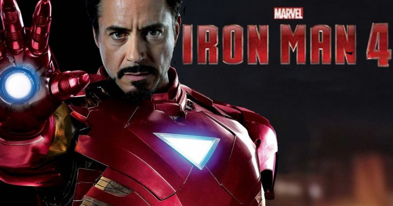 Robert Downey Jr. Marvel Iron Man 4