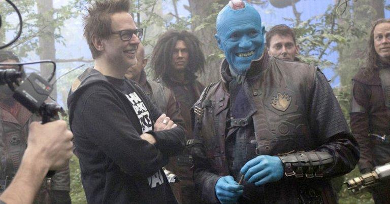 James Gunn Twitter Guardians of the Galaxy 3