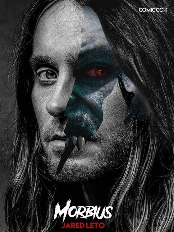 Jared Leto Morbius Comic-Con poster