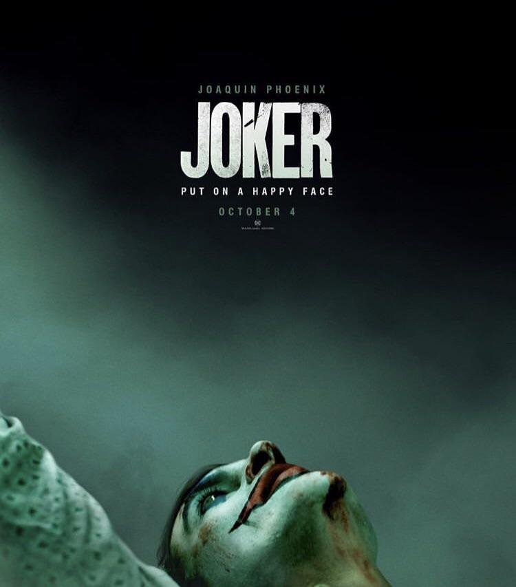 Joaquin Phoenix Joker Poster