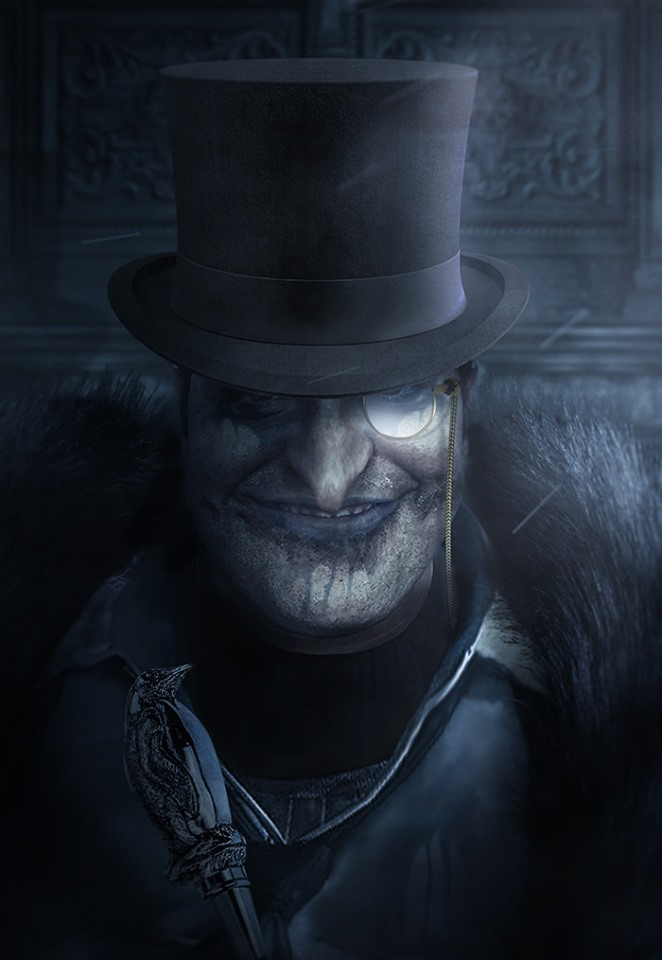 Josh Gad Penguin Batman villain fan art