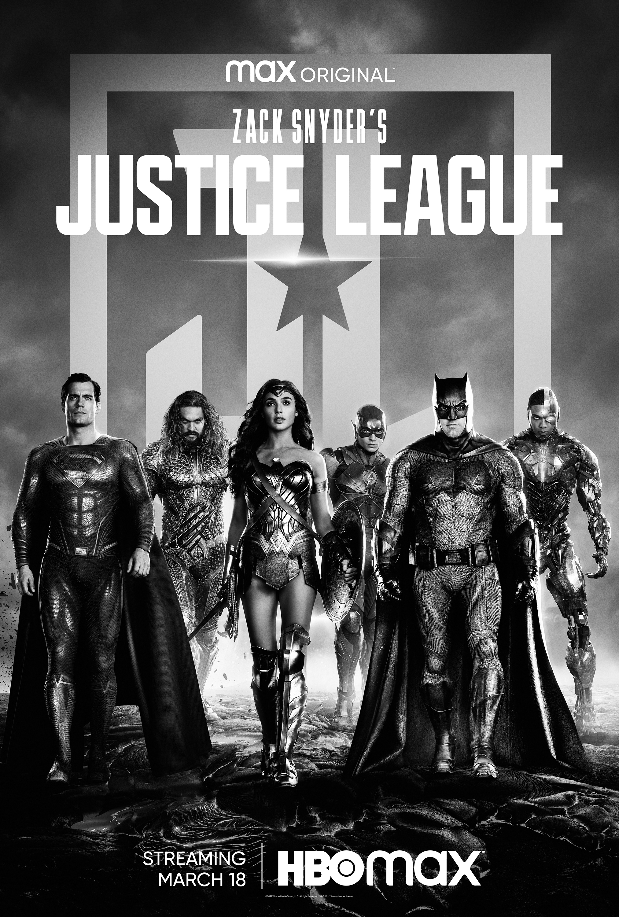 Zack Snyder's Justice League Poster HBO Max
