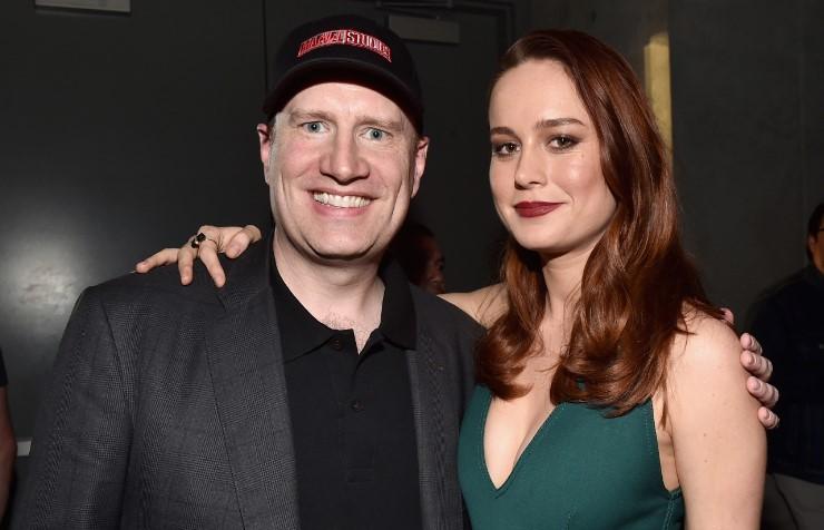 Captain Marvel Brie Larson Kevin Feige