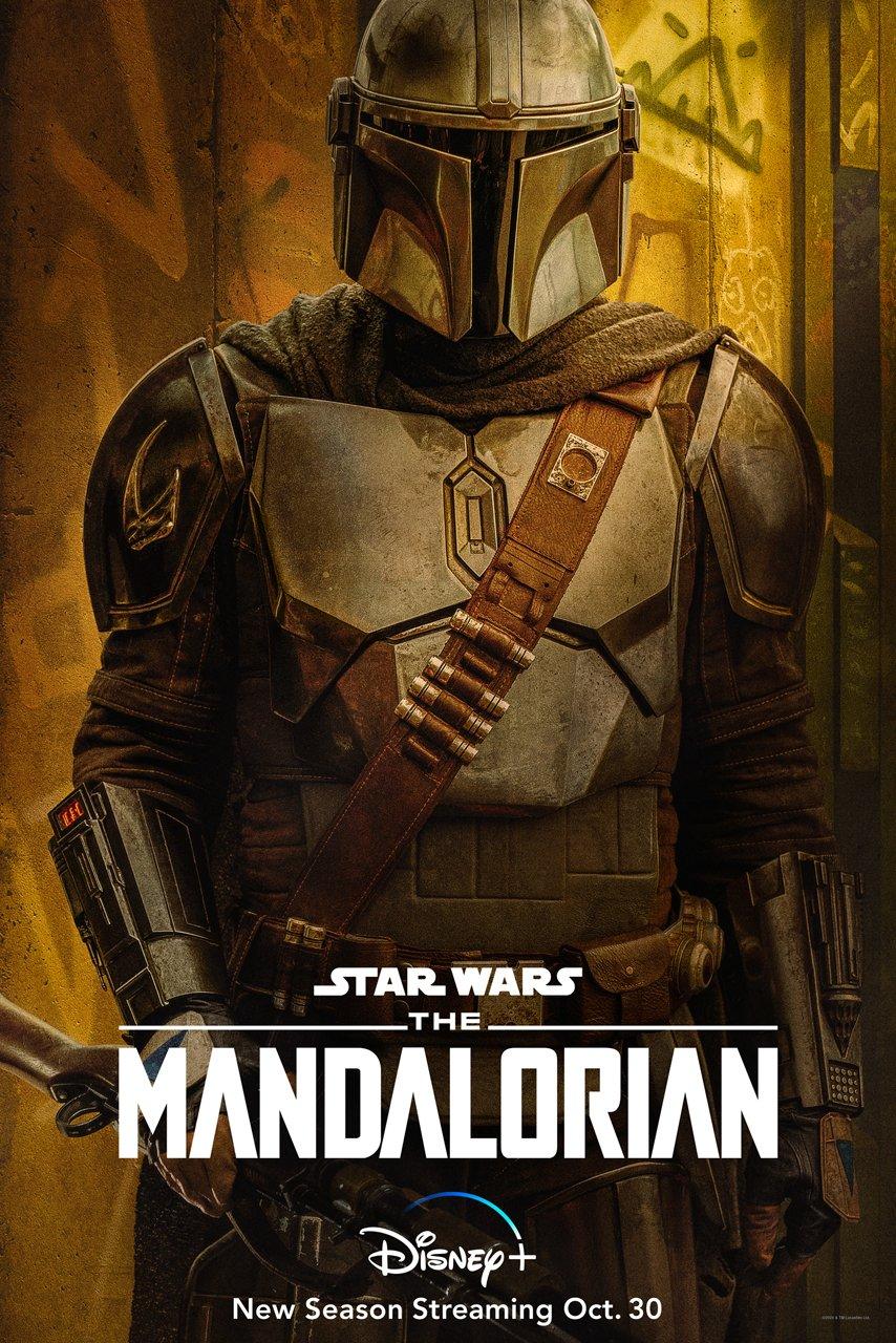 The Mandalorian Season 2  Pedro Pascal poster