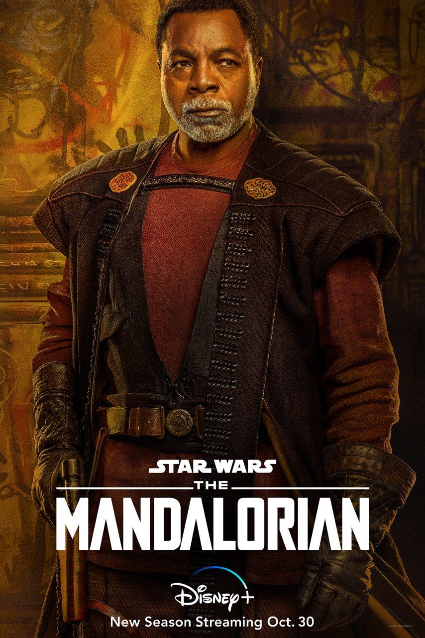The Mandalorian Season 2  Carl Weathers Poster