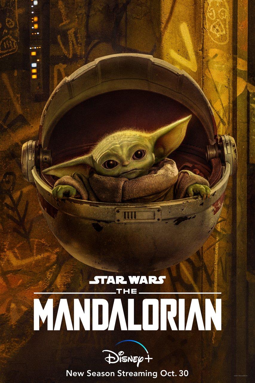 The Mandalorian Season 2 Baby Yoda poster
