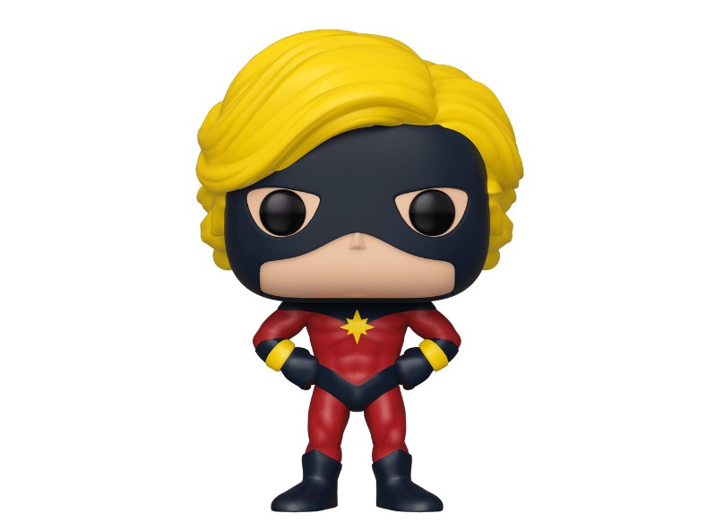 Mar-vell Funko Pop New York Comic-Con