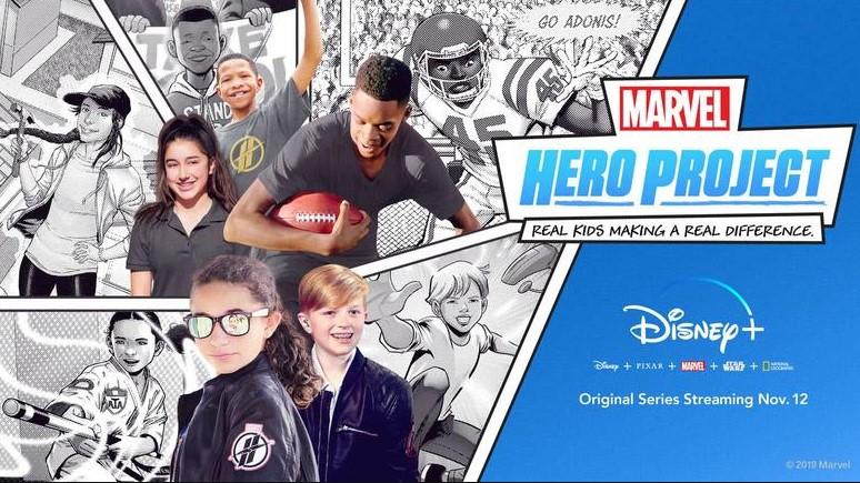Marvel's hero project disney plus
