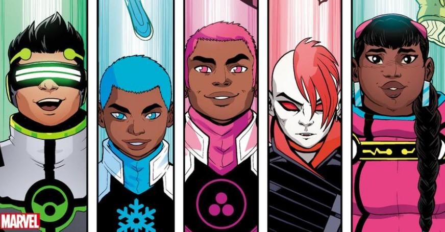 New Warriors Marvel