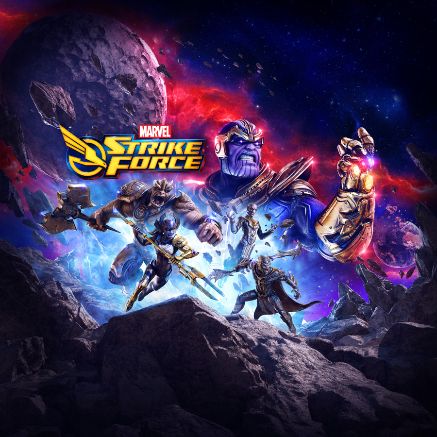 Marvel Strike Force Thanos Infinity Gauntlet Black Order