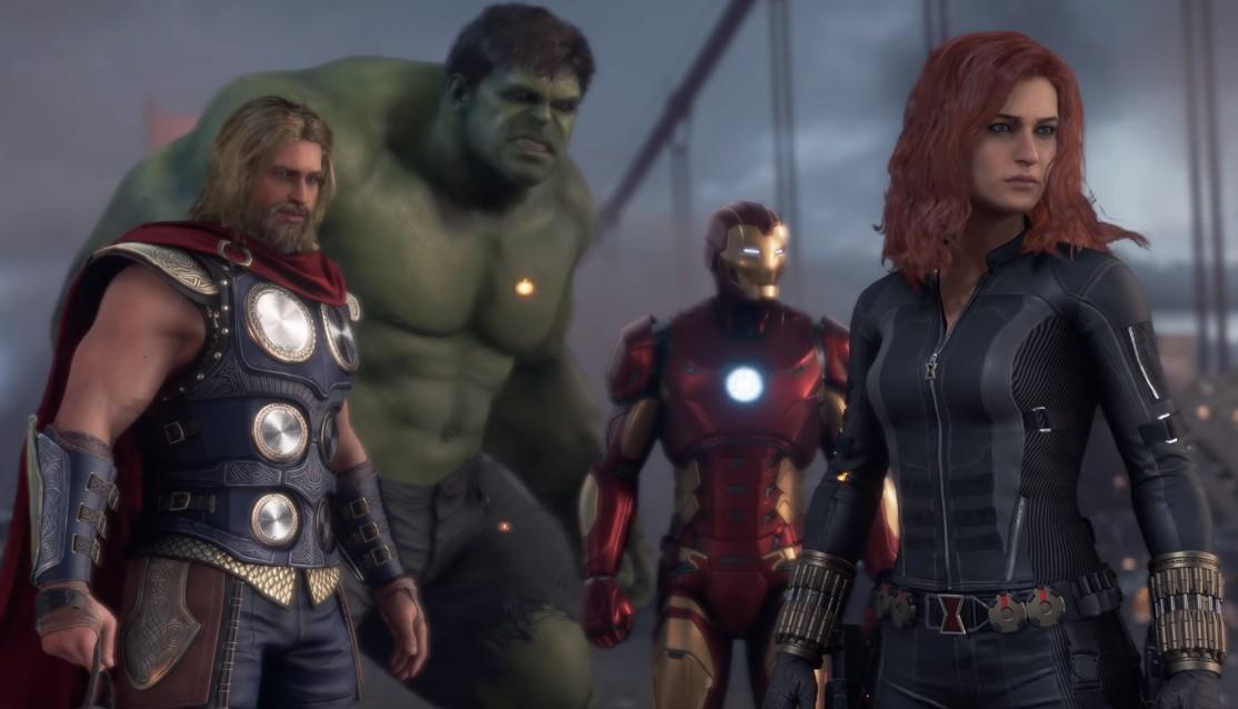 Avengers Video Game Hulk