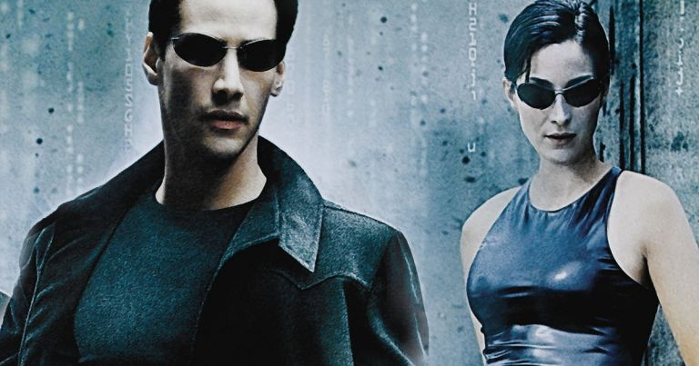 The Matrix Keanu Reeves Carrie Anne Moss