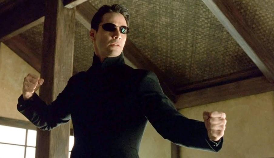 Neo Matrix Reloaded Keanu Reeves