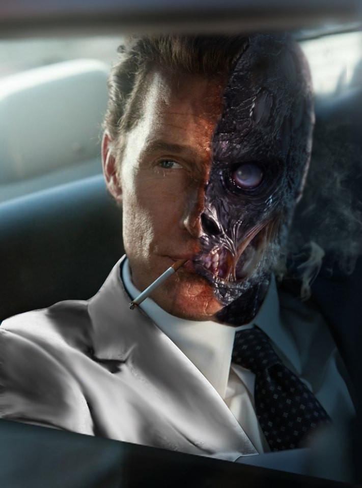 Matthew McConaughey Two-Face The Batman