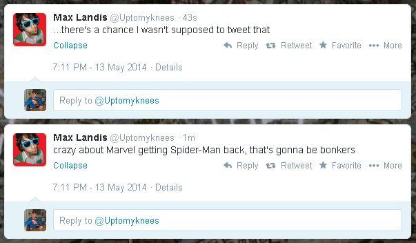 Max Landis Spider-Man
