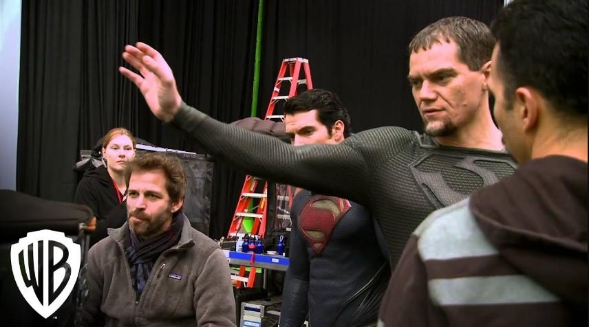 Michael Shannon Zod Man of Steel Zack Snyder Henry Cavill