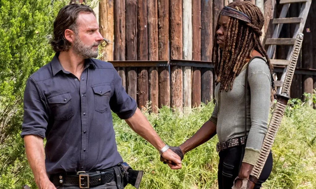 Michone Rick The Walking Dead