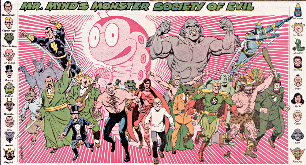 Shazam Mr Mind Monster Society of Evil