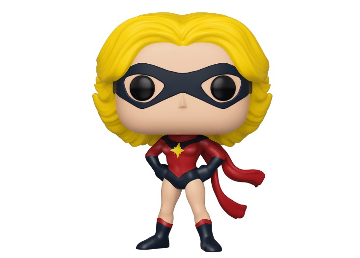Ms Marvel Carol Danvers Funko Pop New York Comic-Con