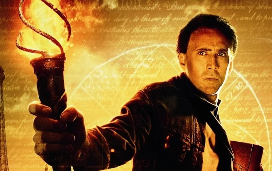 National Treasure Nicolas Cage