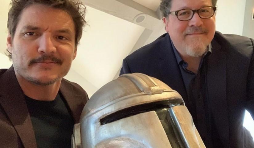 Pedro Pascal Jon Favreau The Mandalorian Star Wars
