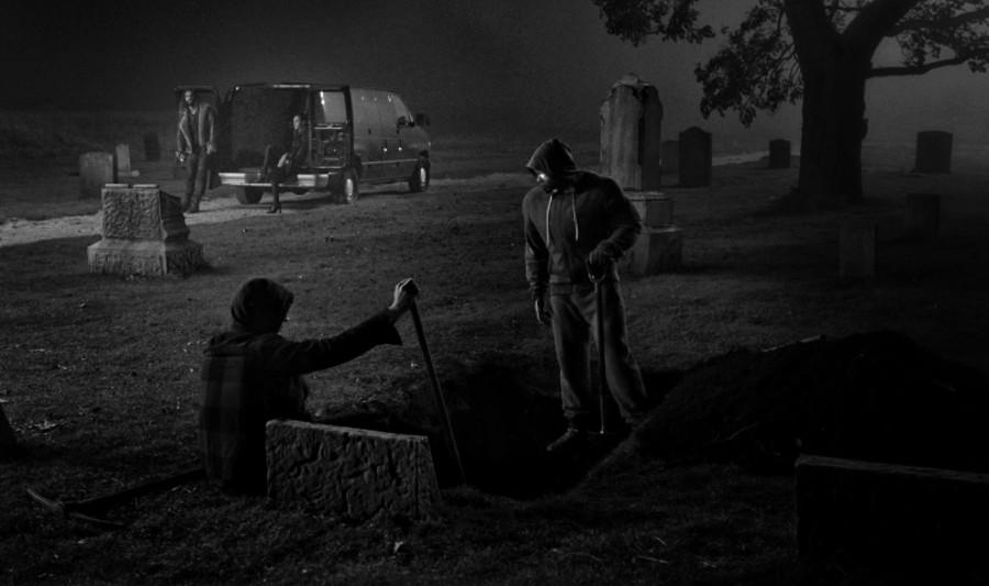 Snyder Cut Cyborg graveyard