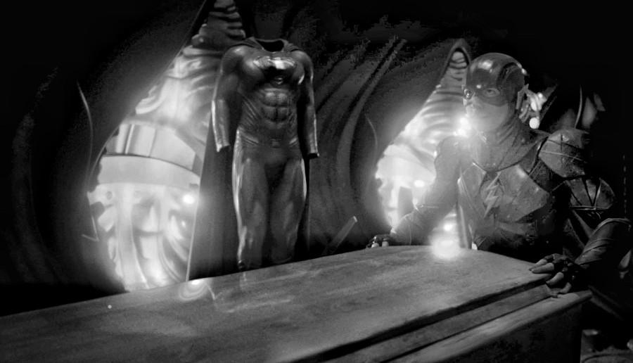 The Flash Superman coffin Justice League Snyder Cut