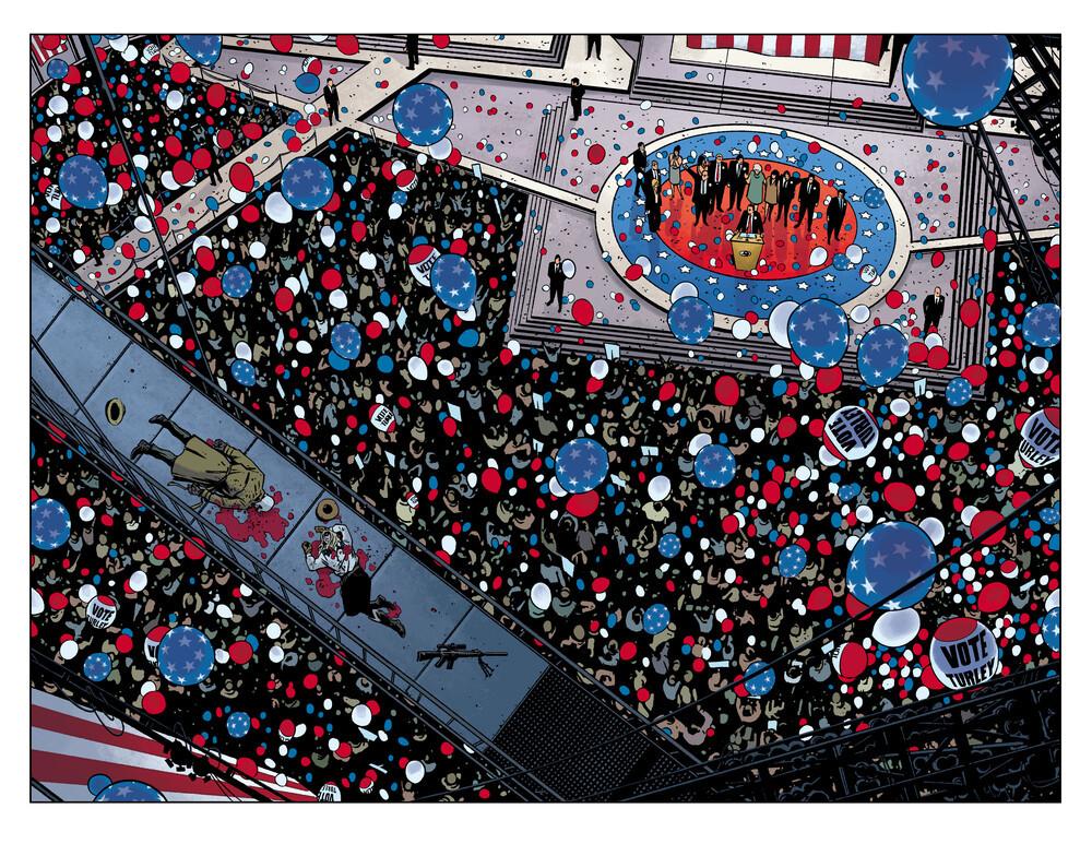 Rorschach Watchmen DC Comics