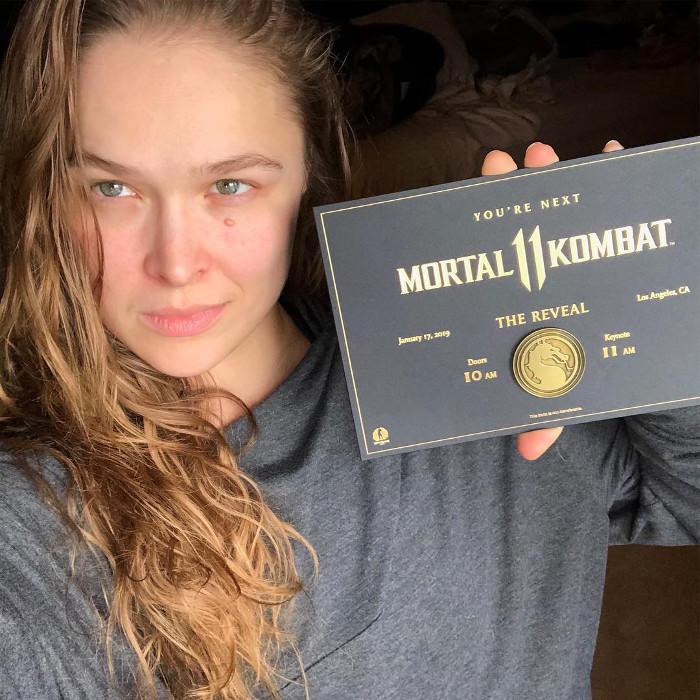 Ronda Rousey Mortal Kombat 11