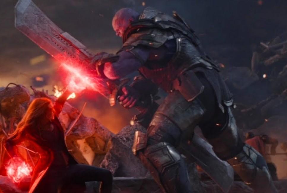 Scarlet Witch vs Thanos Endgame