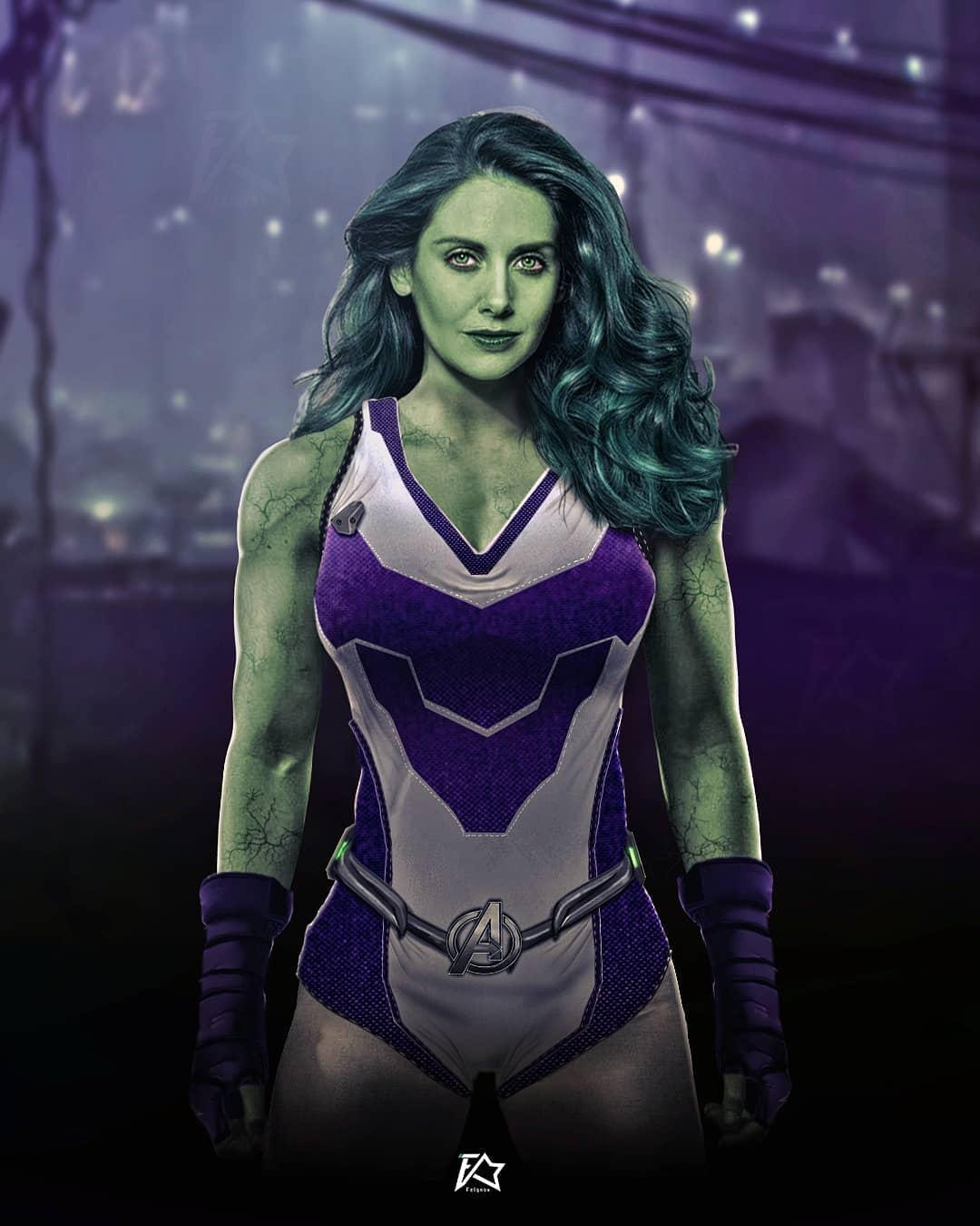 She-Hulk Alison Brie Fan art