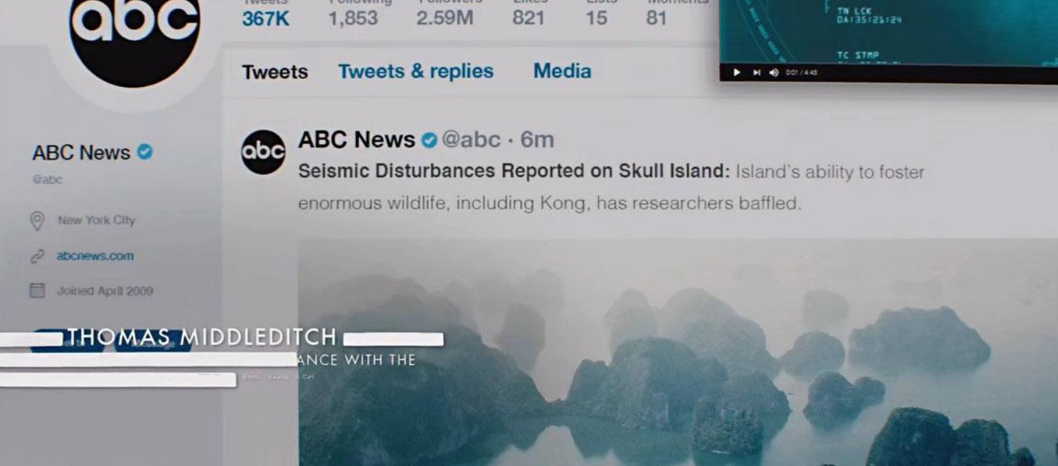 Skull Island Seismic activity