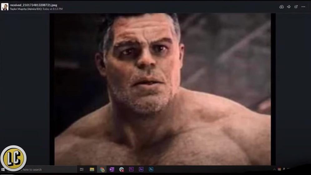 Avengers Endgame Smart Hulk Human