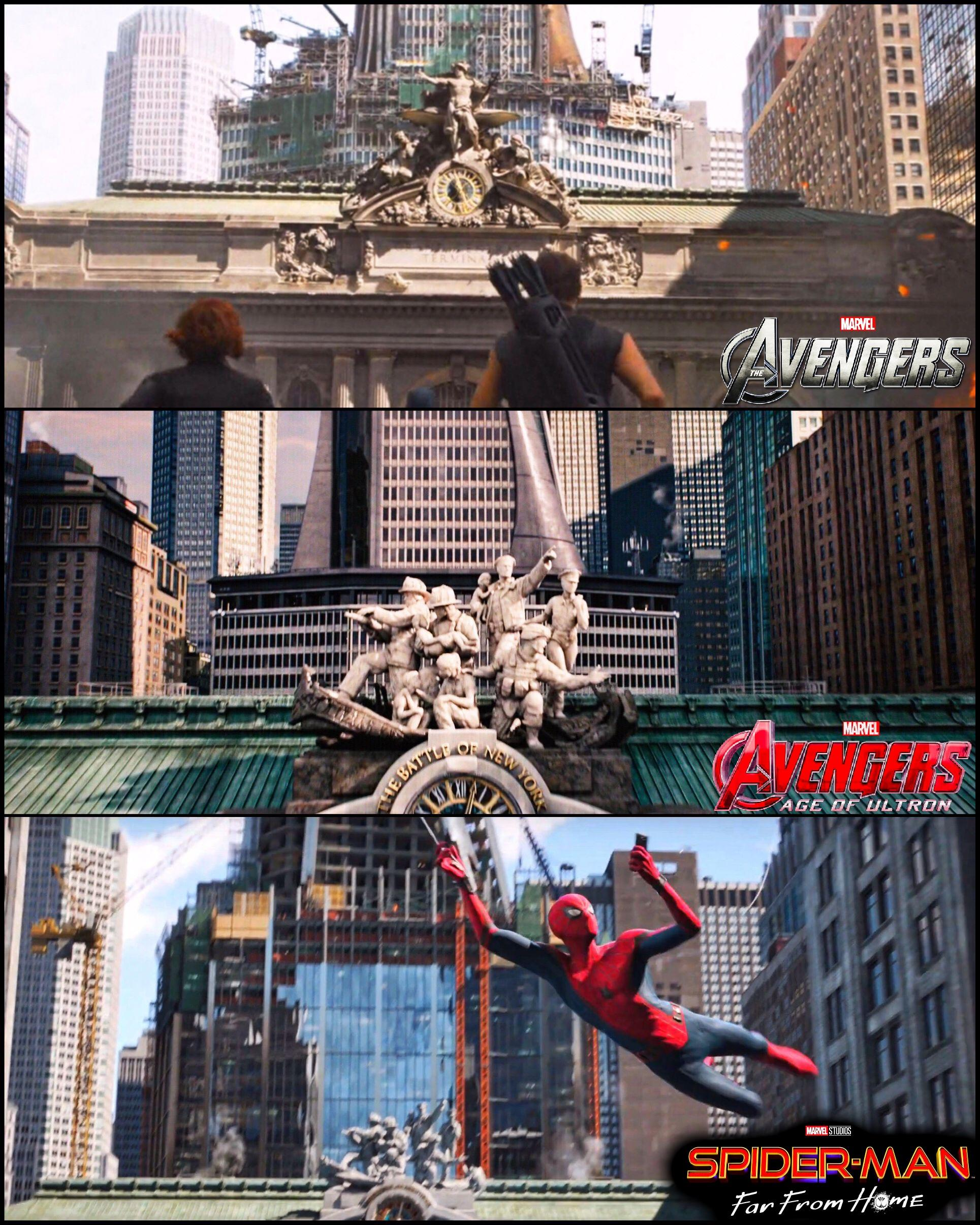 Spider-Man: Far From Home Fantastic Four