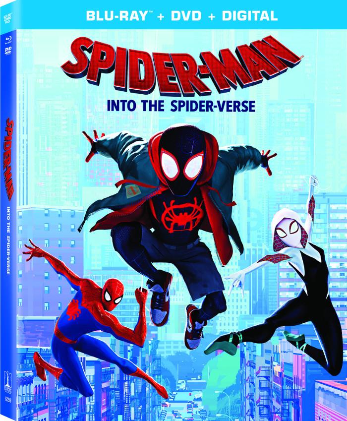 Spider-Verse Blu-Ray