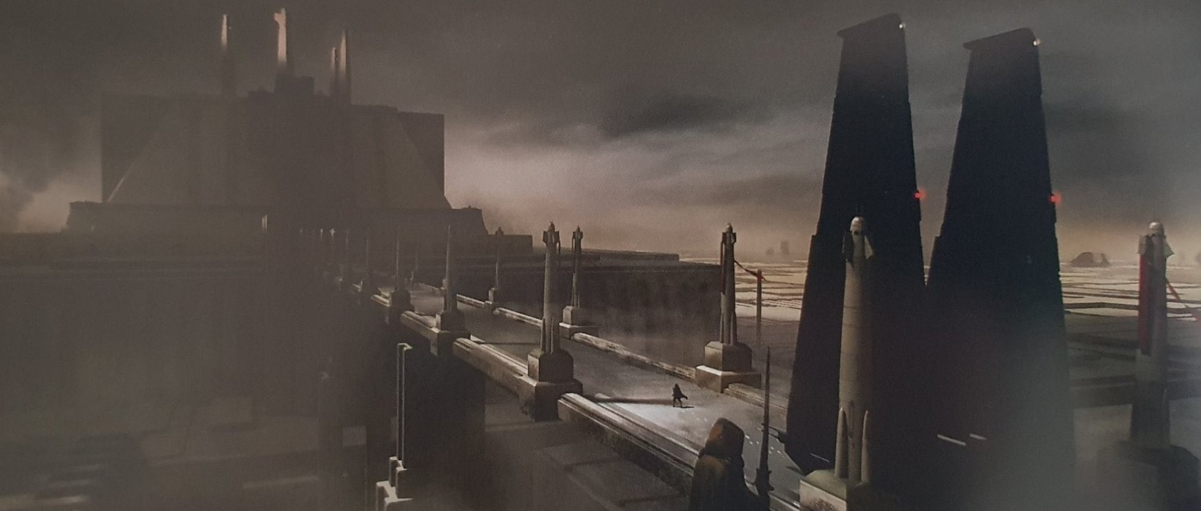 Star Wars Rise of The Skywalker concept art Jedi Temple