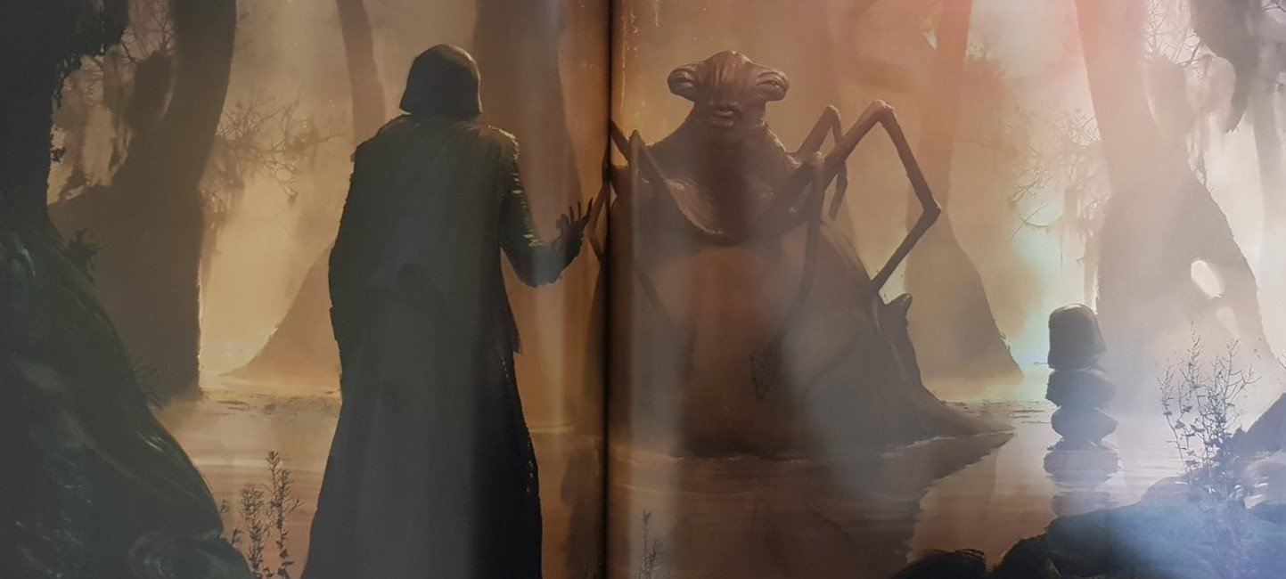 Star Wars Rise of The Skywalker concept art Sith Master
