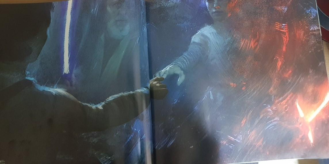 Star Wars Rise of The Skywalker concept art Obi-Wan Kenobi Force Ghost
