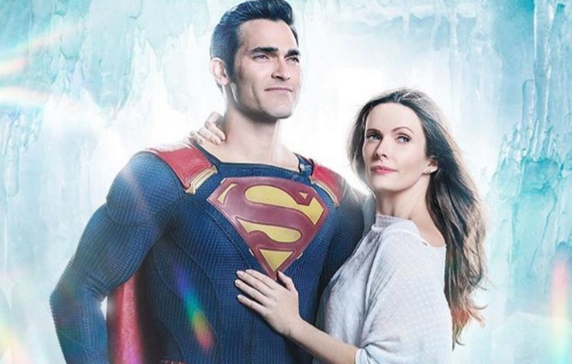 Superman Tyler Hoechlin and Lois Lane Elizabeth Tulloch