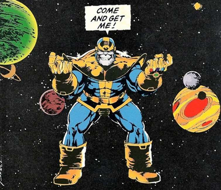 Thanos Infinity Gauntlet 4 Jim Starlin