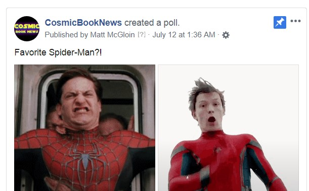 Spider-Man poll
