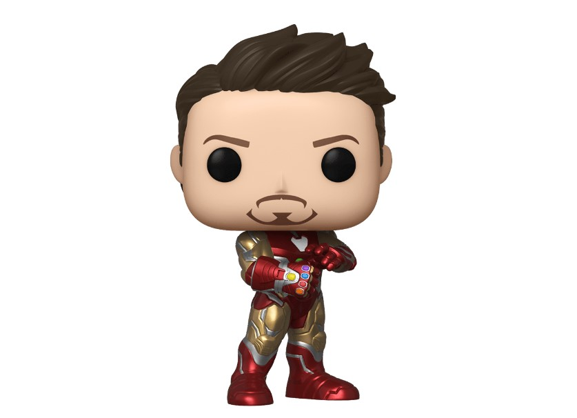 Tony Stark Infinity Gauntlet Avengers Endgame Funko Pop New York Comic-Con