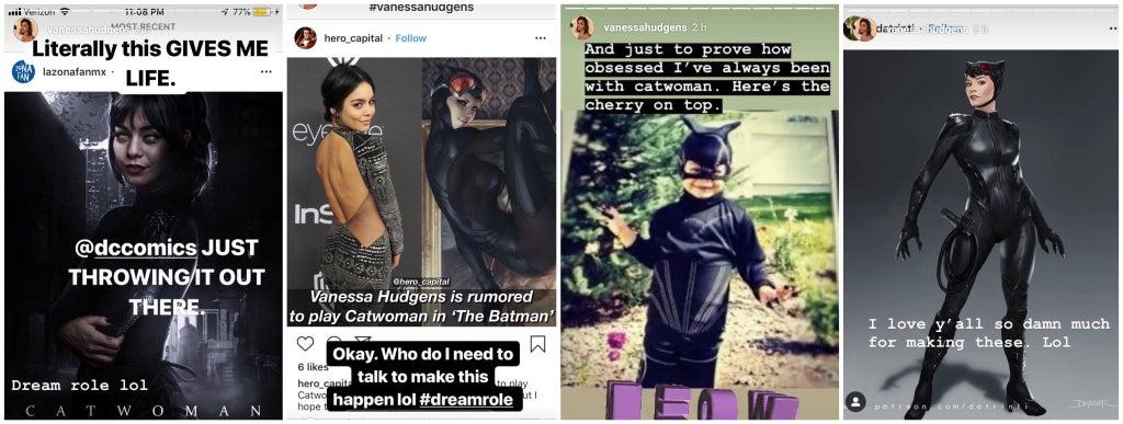 Vanessa Hudgens Catwoman
