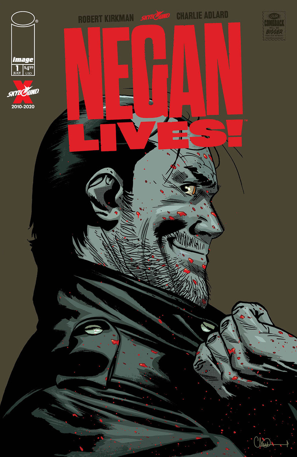 The Walking Dead Negan Special cover