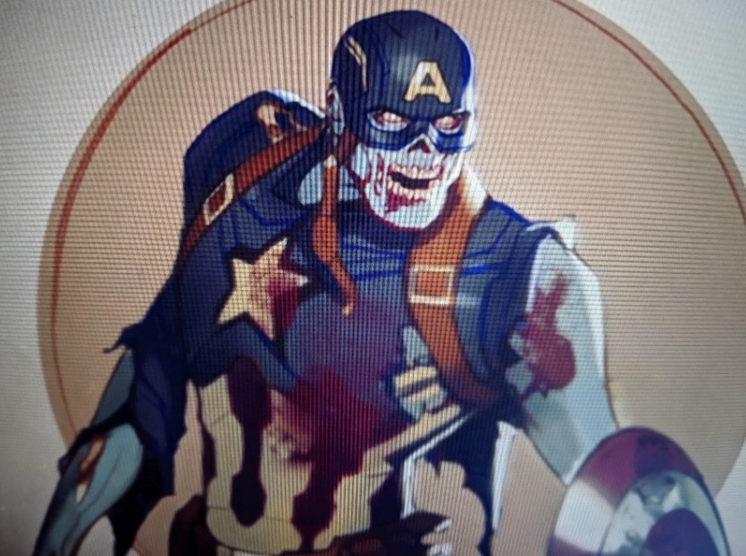 Chris Evans What If zombie Captain America