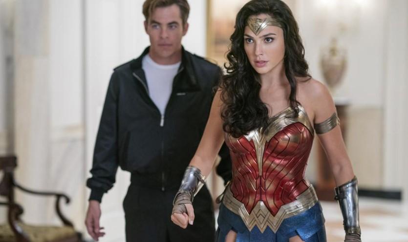 Wonder Woman 1984 Gal Gadot and Chris Pine